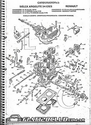 Manual Carburador Solex H34 Pdf